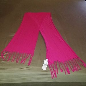 Pink Claire's Scarf